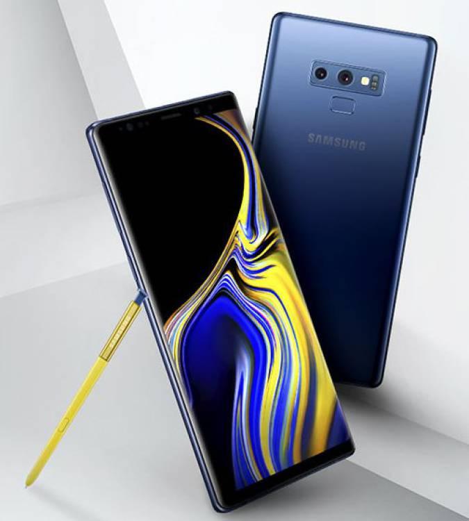 Опубліковано офіційне зображення Galaxy Note 9
