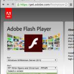 Як виправити уразливості безпеки що викликане використанням Adobe Flash