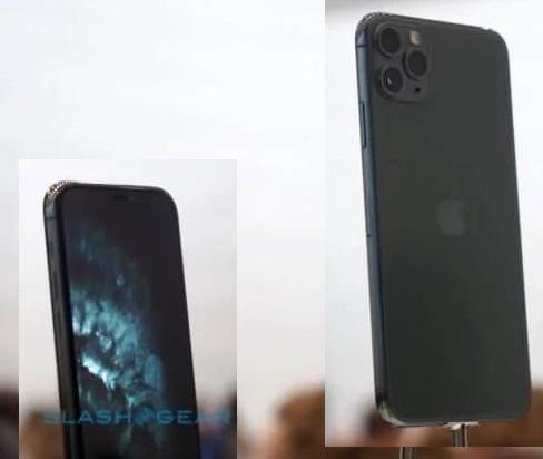 Товщина iPhone Pro 11